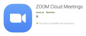 Penggunaan Zoom