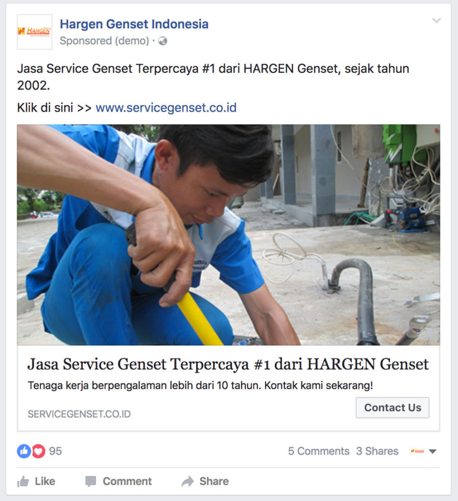 Facebook Website Conversion Ads