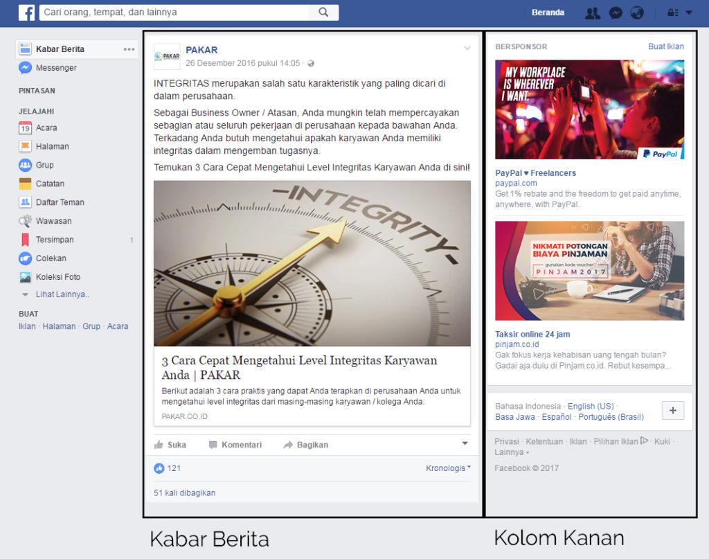 Jenis Jenis Iklan Di Facebook Pakar
