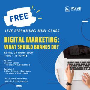 Digital Marketing: What Should Brands Do?