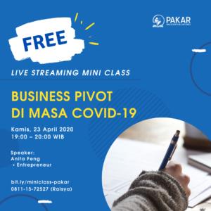 Business Pivot di Masa Covid19